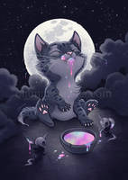 Rainbow Kitty by aleksandracupcake