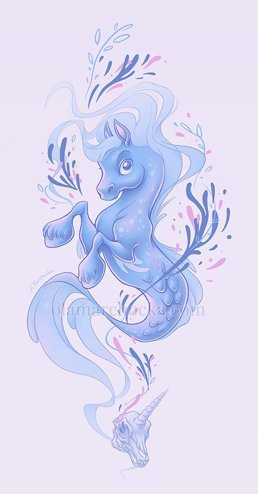 Hippocampus and Unicorn