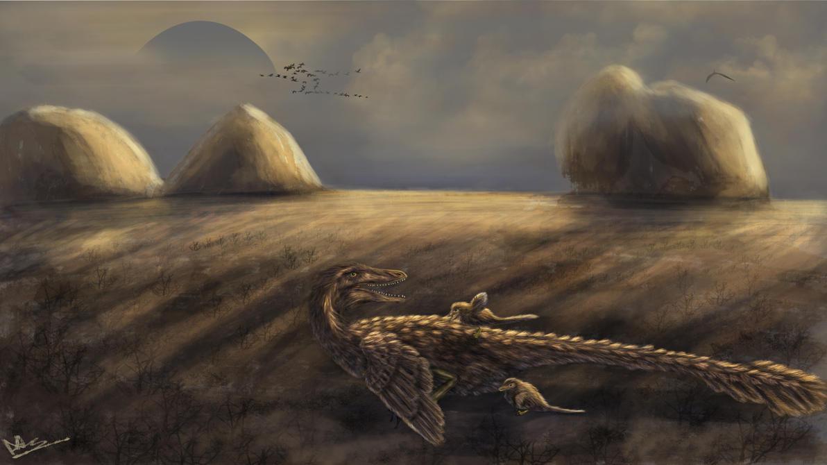 Velociraptor by DragosAndrei
