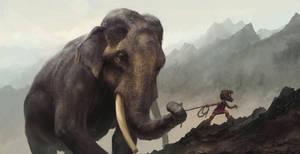 Elephant Walker by BMacSmith