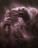 skekOk the Scroll Keeper by BMacSmith