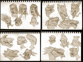 sketchdump sunday! by BMacSmith