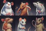 Mice close ups. by BMacSmith