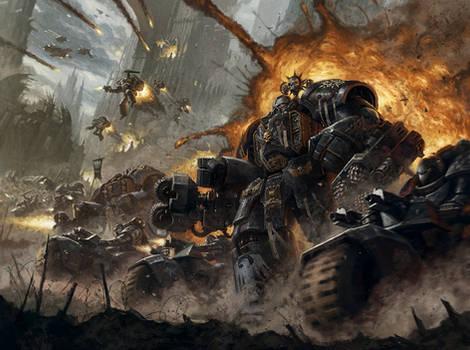 Warhammer 40k Raven Guard Space Marine Chapter
