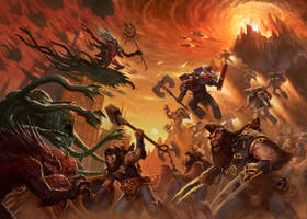 FIREHOWLERS vs DAEMONS by BMacSmith