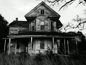 Haunted house by AmorouxSkiLodge