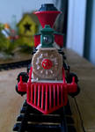 Dickensville holiday train set