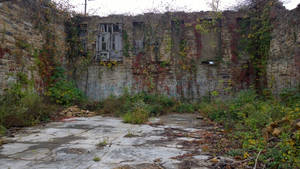 Ruins of a hotel