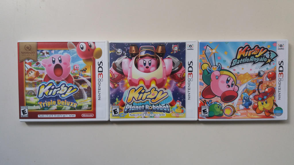 all kirby games for nintendo 3ds 2018 by 95damian on deviantart