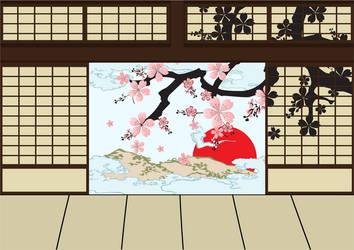 Japanese Room by Gajderowicz