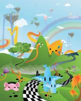 Crazy Planet - Chess Road by Gajderowicz