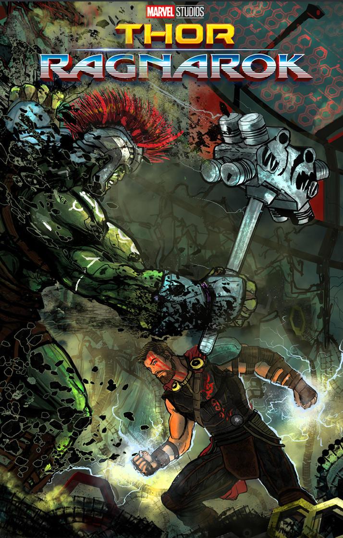Thor Ragnarok by Zero-Optix