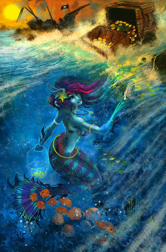 Siren Mermaid by Zero-Optix