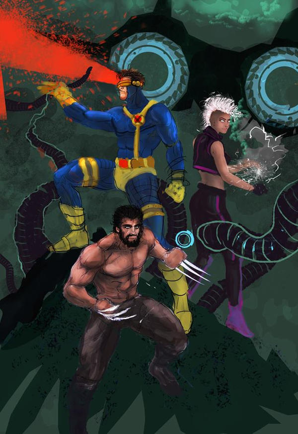 Xmen Wip by Zero-Optix