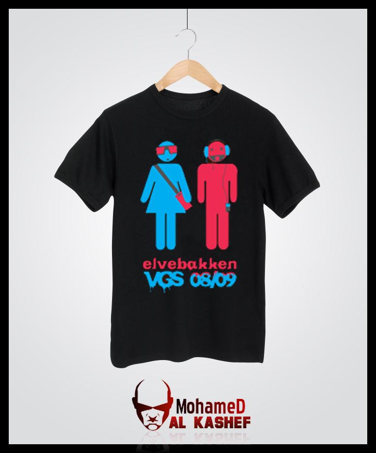 New t shirt elvebakken by alkashef on deviantart for T shirt printing mobile al