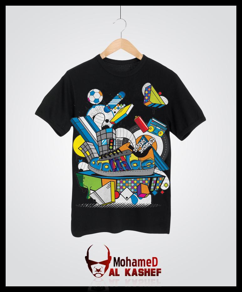 6cb368503 New T-Shirt Adidas by alkashef on DeviantArt