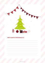 Christmas Wish List by miiyak0