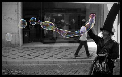 Street Bubbles by Infernalord