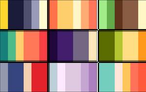 color palettes 2 by RRRAI