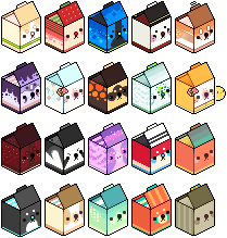 milk carton army by RRRAI
