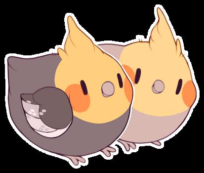 cockatiel friends!