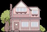 pixel house by RRRAI