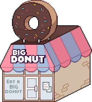 big donut