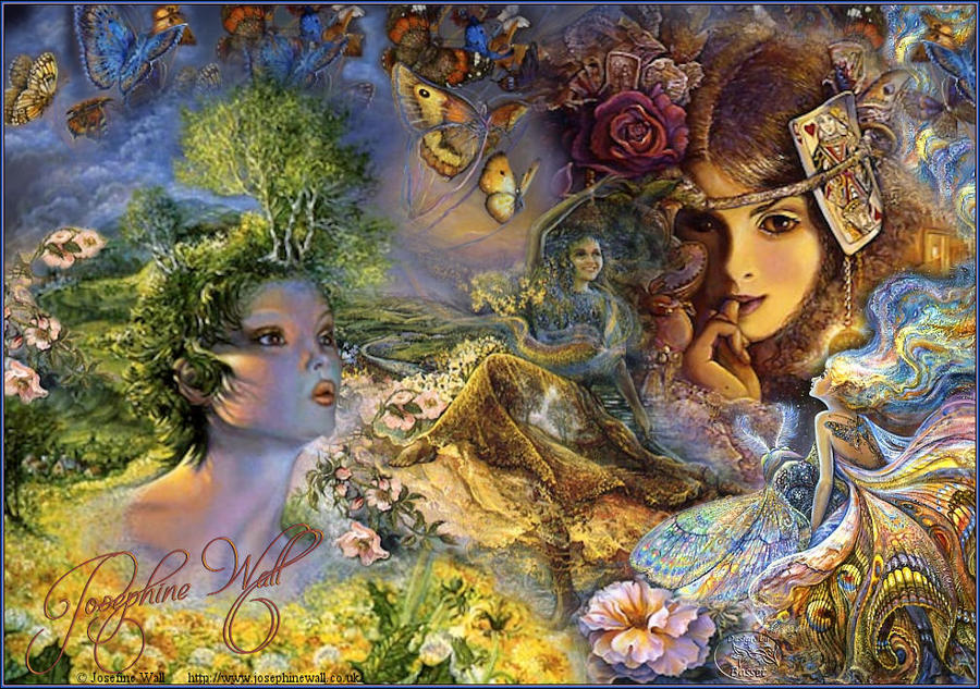 Art by Josephine Wall_1 by Basset0410