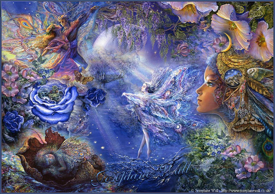Art by Josephine Wall_3 by Basset0410