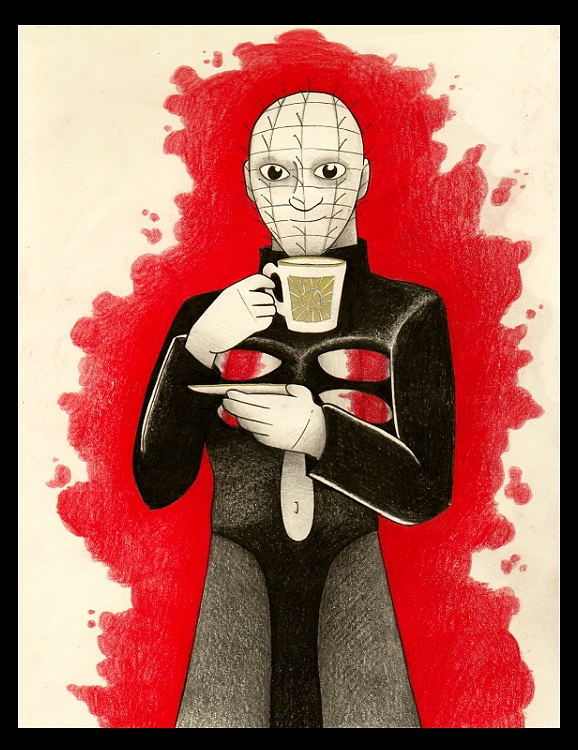 See you for tea in hell by syxx