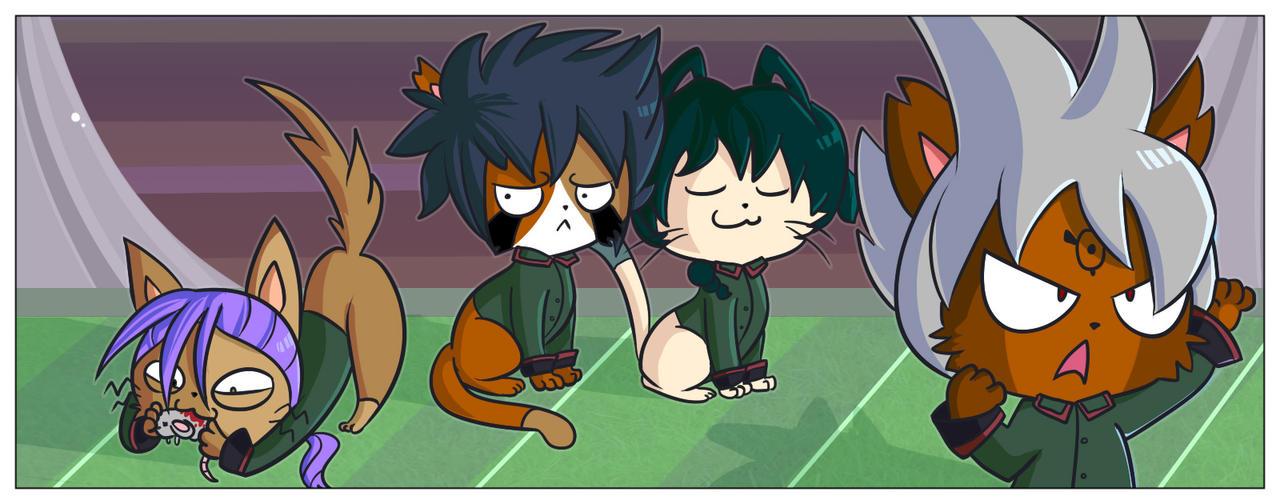 Ogre Kitties by ecokitty