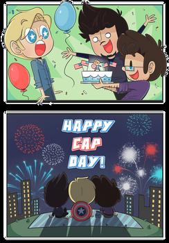 Happy Cap Day!