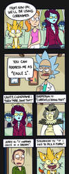 Rick and Morty: Eagle 1 by ecokitty