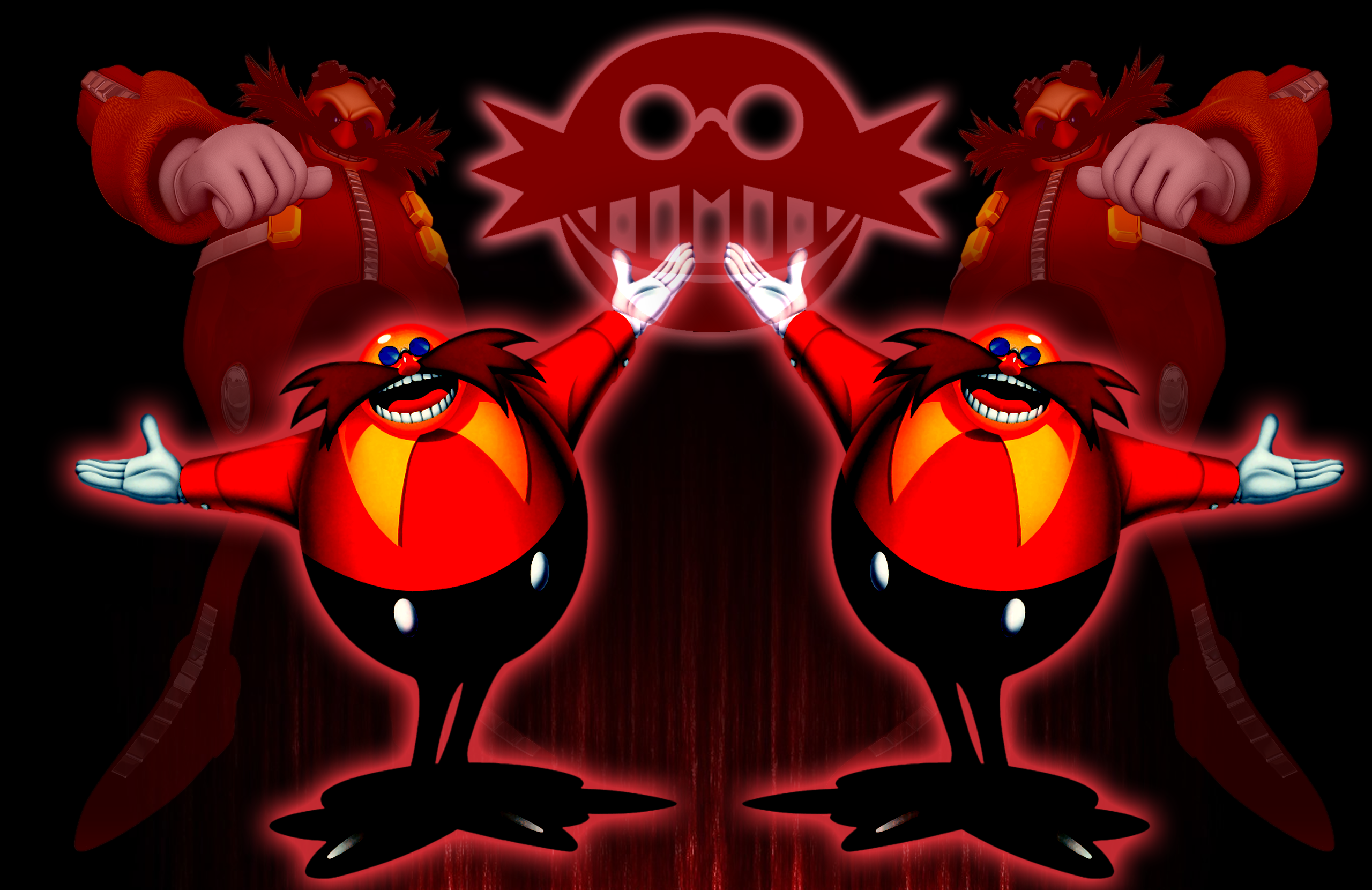 Eggman With Glasses And Flip Flops Picture
