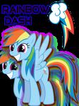 Rainbow Dash T-Shirt Design