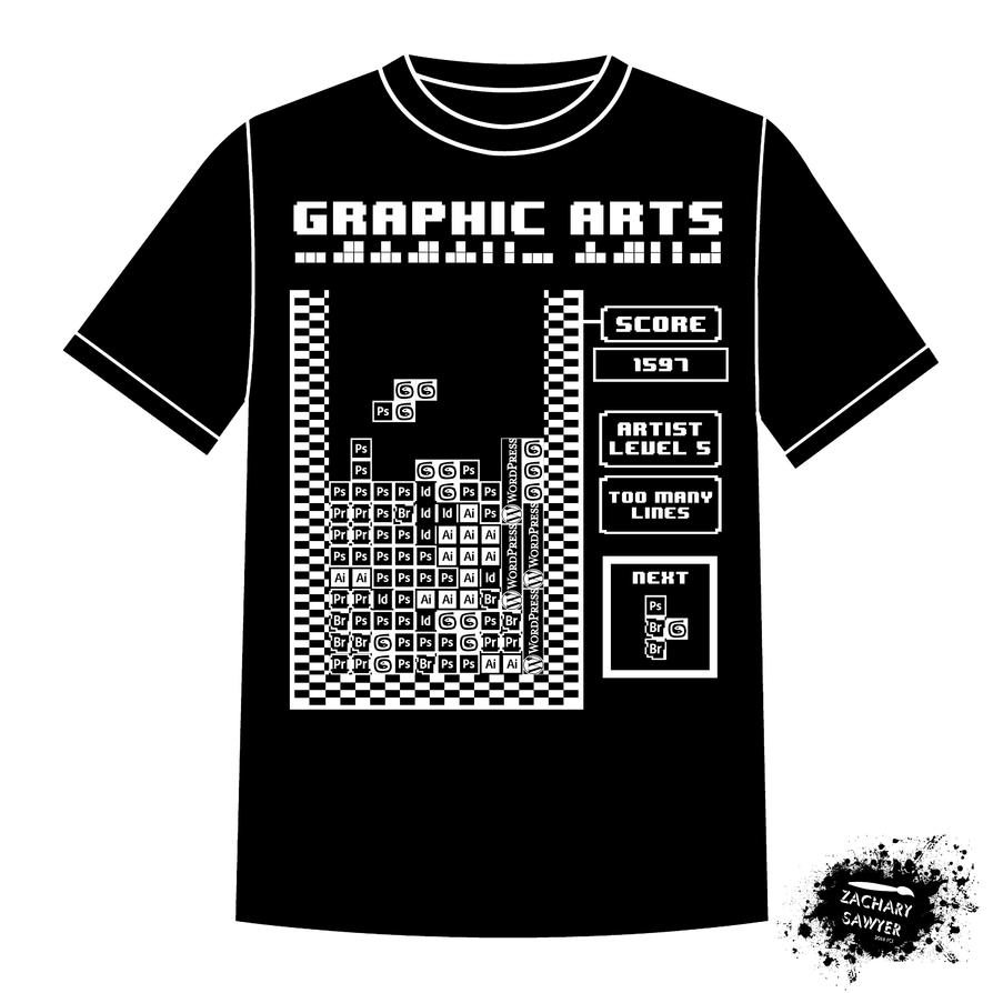 Graphic Arts Tetris Edition by iamthemanwithglasses