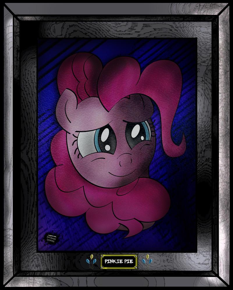 Pinkie Pie by iamthemanwithglasses