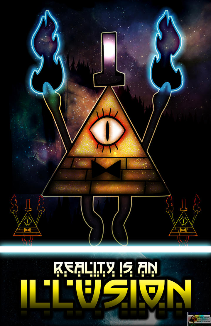 Reality Is An Illusion by iamthemanwithglasses