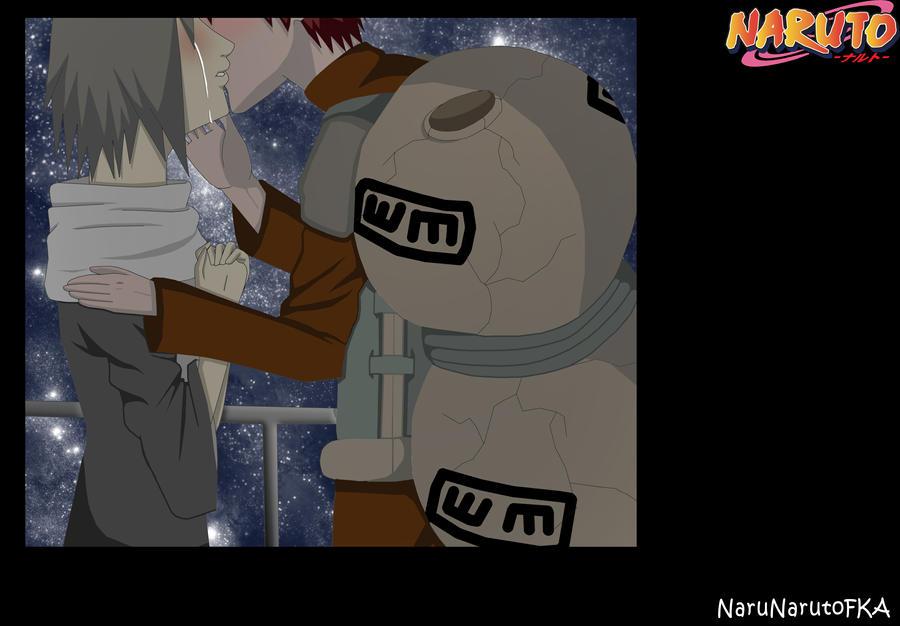Kiss goodbye by NaruNarutoFKA on DeviantArt