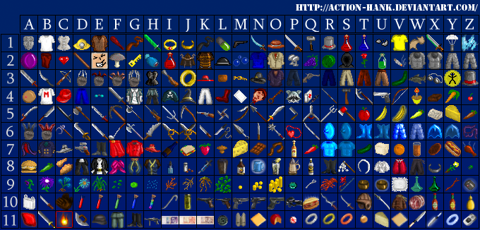 RPG Icons by Action-Hank