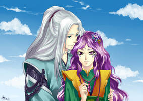 Clange and his girl by eagiel