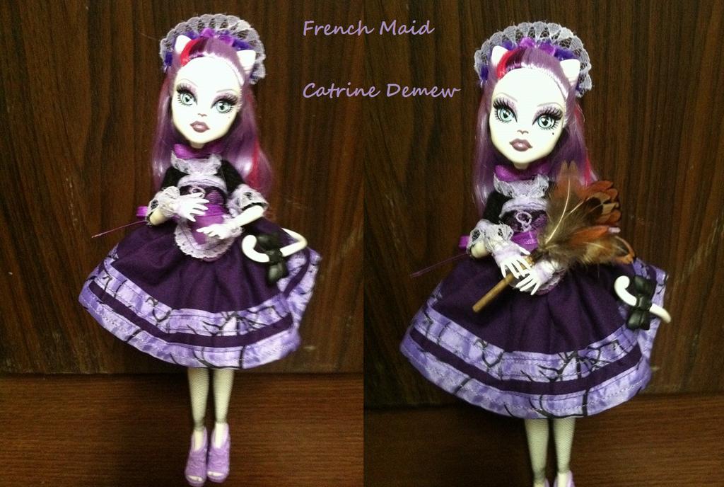 French Maid - Catrine Demew by Tibby-san