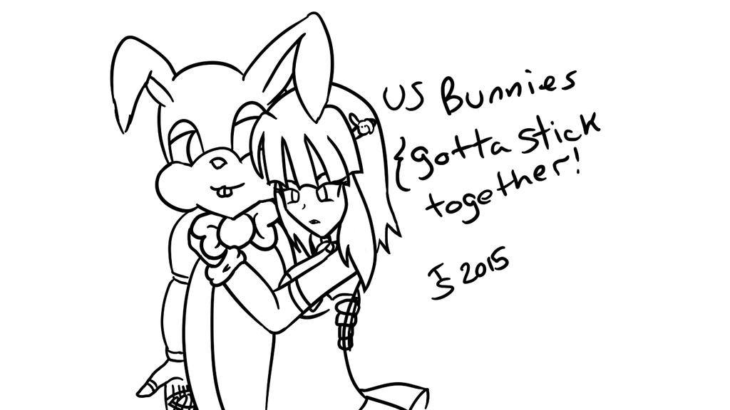 FNAF - Bunny and Buni - WIP by Tibby-san
