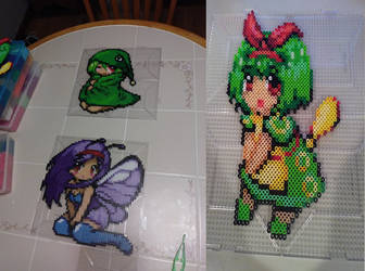 Moemon Caterpie WIPs ID by Tibby-san