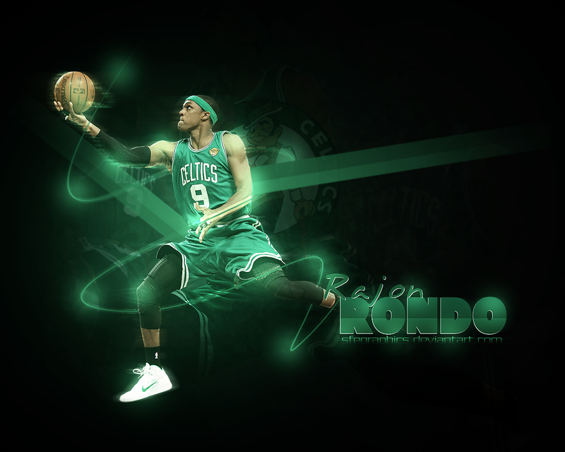 07. Rajon Rondo By Sfegraphics On DeviantArt