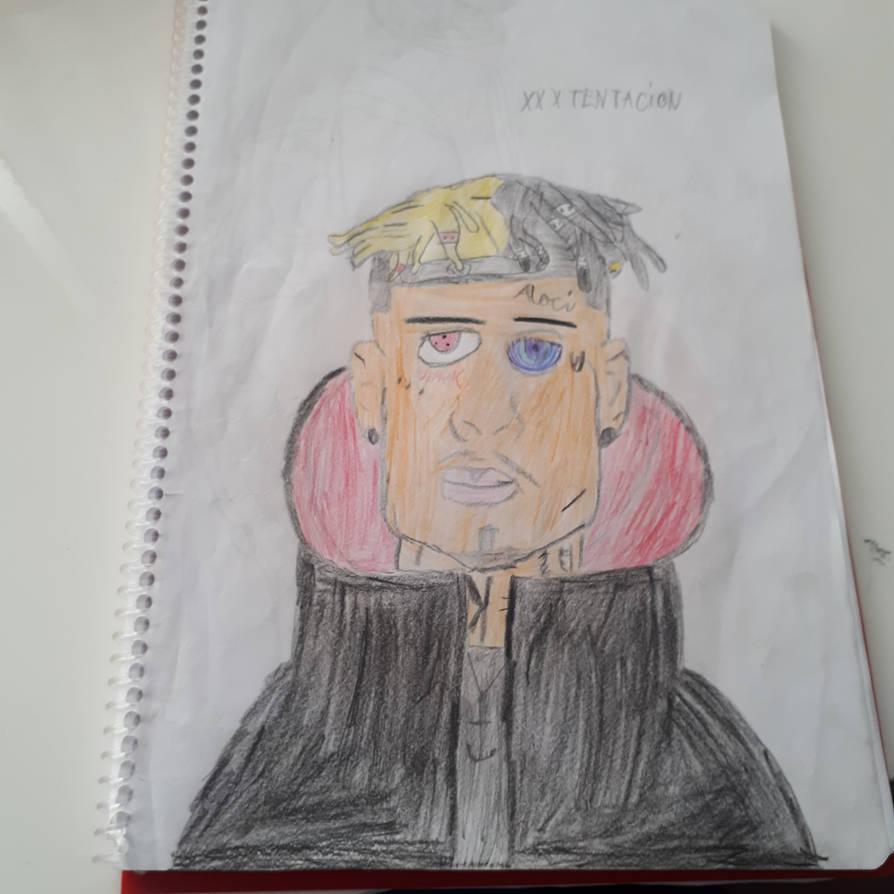 Drawing Xxxtentacion: I Draw XXXTentacion By TheBoyNamedMuzaffer On DeviantArt