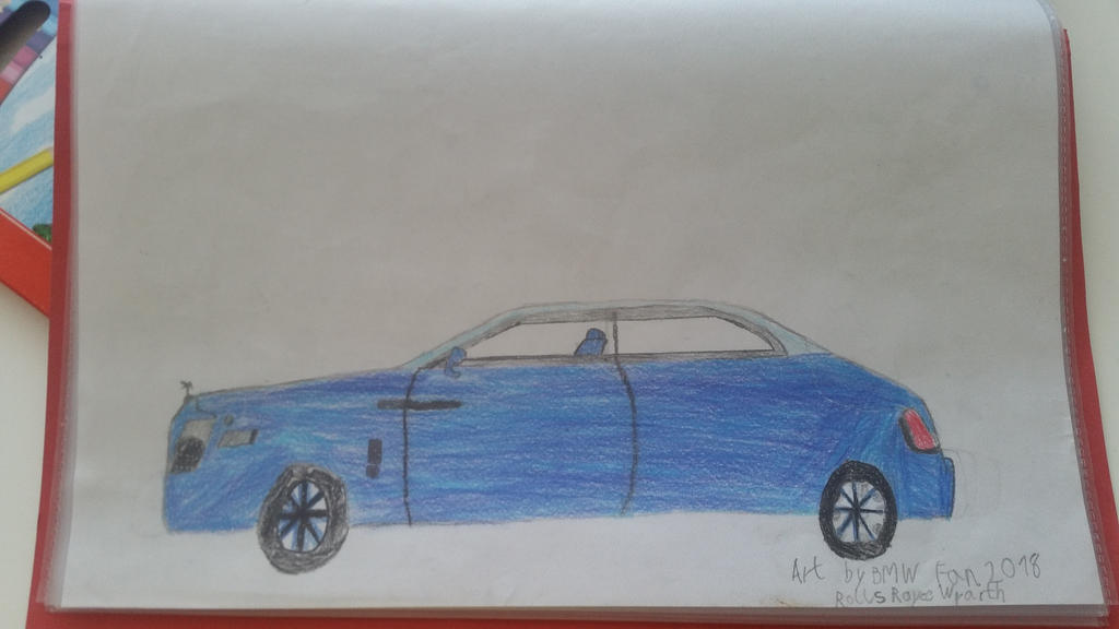 I drew a Rolls Royce Wraith by TheBoyNamedMuzaffer