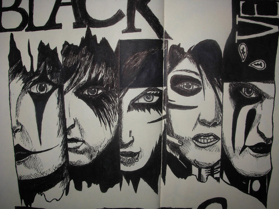 black veil brides drawings wwwpixsharkcom images