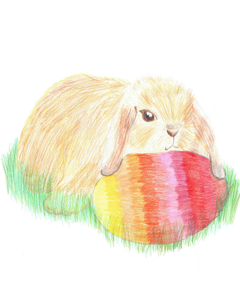 Easter Bunny by tuna-riri