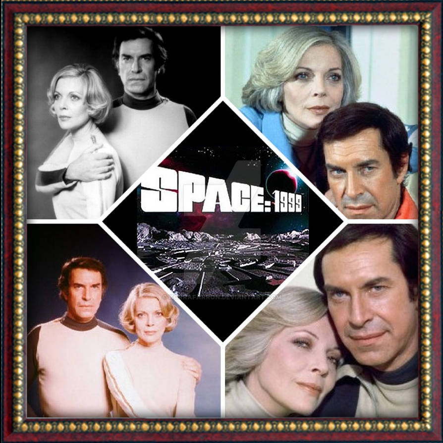 Space: 1999 Collage of Martin and Barbara by KorraFarron